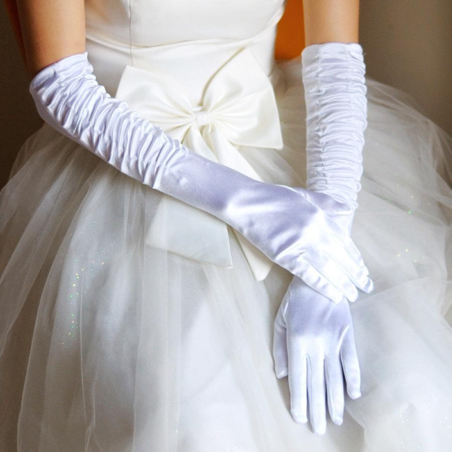 Extension bride gloves wedding dress glove bridal glove for Wedding dresses with gloves