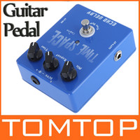 Wholesale High quality Full metal case Guitar Digital Delay Pedal ms Max True Bypass I111