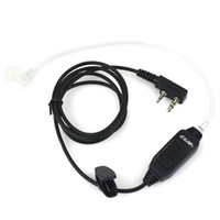 Wholesale EMS Pin Covert Air Acoustic Tube Earpiece PPT for PUXING TYT WOUXUN BF UV5R S S H777 Radios C0167A