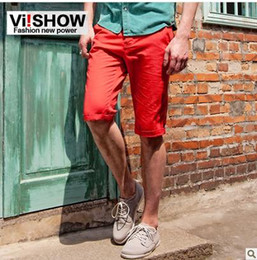 Wholesale Viishow2013 summer leisure pants men s casual pants shorts pants thin trousers