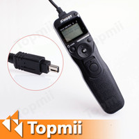 Wholesale Camera Timer Remote Shutter Release with LCD Shoot MC DC1 M CM for Nikon D80 D70s
