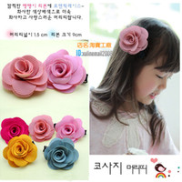 Wholesale Girls Hair Jewelry Peones child hair clips side knotted clip bangs clip accessories
