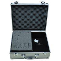 I401-7 tattoo tool box - Tattoos Silver Tattoo Gun Tool Accessories Kit Carrying Case Box