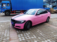 Wholesale pink matte vinyl smoked pink car plastic wrapping air bubble free full body vinyl sticker best quality m roll MV30m