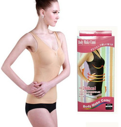 Wholesale body make cami Super slim vest body shaper body shaping clothing shaper underwear color