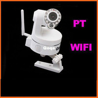 Wholesale Wireless WiFi IP Camera Webcam IR Nightvision IP Camera S86W Freeshipping Dropshipping