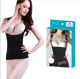Wholesale New Slimming Control Body Shaper Underbust Firm Tummy Control Vest Shape Top Wear Waspie M L