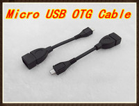 Wholesale 10pcs Micro USB OTG Cable B Male to A Female Adapter Converter quot Tablet PC RW L11