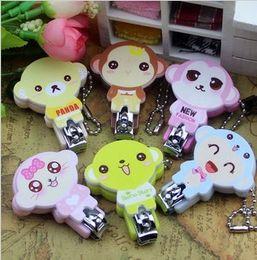 Wholesale Creative Nail Nail promotional gifts cute cartoon nail scissors