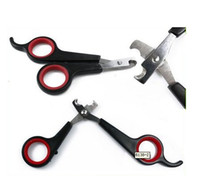 Wholesale Pet Dog Cat Care Nail Clipper Scissors Grooming Trimmer dog cleaning tool pet scissors