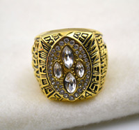 Wholesale k gold plated ers Championship Ring R109535