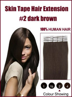 Wholesale Remy Human Skin Weft Skin Tape Hair Extensions quot quot g pc set