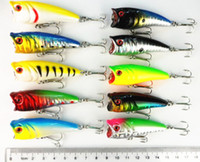 Hard Baits small wholesale lots - Promotional color cm g small plastic fishing Popper hard bait lures in oz Crankbaits