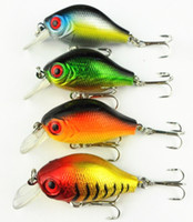 Wholesale Fishing Lures Bait trackle Floating new lures cm g Crank fishing lure hard plastic fishing baits retail