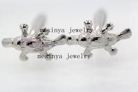 Wholesale wedding bridegroom platypus cufflinks in L stainless steel