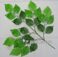 apple tree leaf - Simulation leaf Artificial silk leaf Artificial tree branches apple tree leaf home party decor