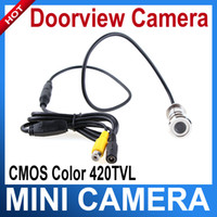 Wholesale 3 mm Lens Mini Security Color Eye Hole Door CCTV Camera