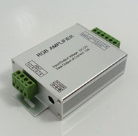 DC amplifier module - High Power LED RGB Amplifier DC12V input A output for rgb led strip rgb led module