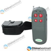 Wholesale 4 IN Remote Pet Training Vibra amp Electric Shock collar No bark training collar for One Dog Chinabestmall
