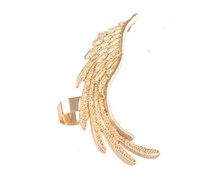 Wholesale Angel Wings no hole ear clip cute fashion punk jewelry C006