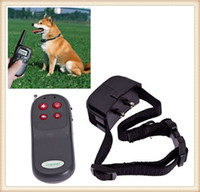 Wholesale 4 in Electronic Remote Small Med Large Dog Training Obedience Training Collar Vibration Shock