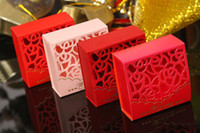 Wholesale Hot Sale Wedding Candy Box Wedding Favor Box Party Gift Box Paper Box
