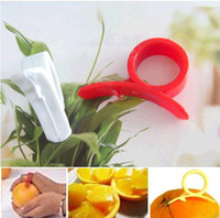 Plastic Citrus Orange Peeler  orange peeler - Lots2000 Orange Lemon Citrus Fruit Platic Easy Slicer Cutter Opener Peeler Remover Scaler
