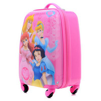 Wholesale Most popular GIRLS Suitcases BEST Draw bar box universal wheel travle suitcase Princess
