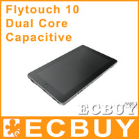 Wholesale 10 Inch Tablet PC Flytouch Android Capacitive Dual Core HDMI GPS Superpad GB DDR3 GB HDD Flyouch superpad Upgrade