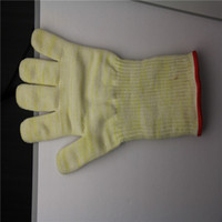 Wholesale 2013 Hot Sale Kevlar Cooking Long Sleeve oven Glove Liner With Cotton kitchen hand glove