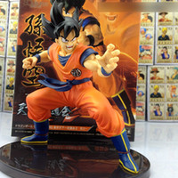Wholesale 15CM Dragon ball z figures The Monkey King Goku figure chidren toy Retail colorful inch