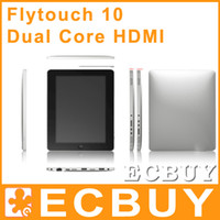Wholesale 10 Inch Superpad GB Dual Core Flytouch G HDMI GPS Capacitive screen Flytouch Superpad Tablet PC