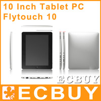 Wholesale 10 Inch Tablets PC Android Dual Core Capacitive HDMI GPS Tablet Flytouch Superpad