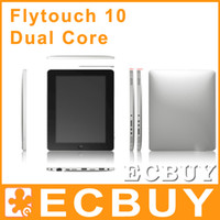 Wholesale 10 Inch Ebook Reader Flytouch Dual Core Capacitive screen HDMI GPS Superpad Android Tablet PC Epad Q88 Q89