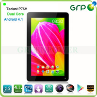 Wholesale Lowest price tablet PC with HDMI output Teclast P76H inch multi touch screen Android Dual Core Wifi G sensor OTG