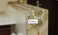 Wholesale Table Runner Fashion Brief European Rustic Embroidered Coffee Table Flag CM CM Red
