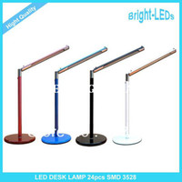 Wholesale Hight Quality Bright LEDs New LED Desk light USB Table Lamp AC V V Power Best Price