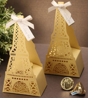 Wholesale CB2017 Favor Holders hollow out sweet boxes gift box creative wedding candy box