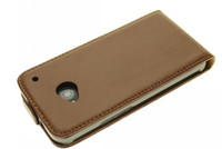 Wholesale 300PCS DHL Hot Sale High Quality Magnetic Lock For HTC ONE M7 Genuine Real Leather Flip Case Cover