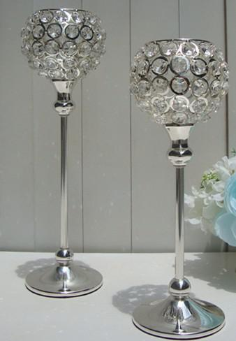 Tall Crystal Candle Holder/Acrylic Crystal Table Candlesticks Wedding Centerpiece Wedding Candle ...