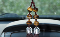 Wholesale High end security and peace tiger stone agate car pendant Jushi car hanging ornaments pendant acces
