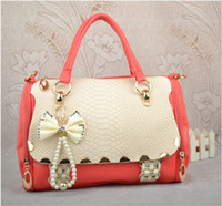 Wholesale 2013 new fashion bow shoulder bag handbag cross body bag for women