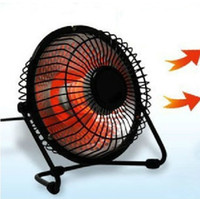 Wholesale Mini small electric home household office desktop heater fan