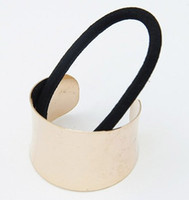 asos style - Punk Style ASOS Fashion Gold Silver Metal Semi Circle Hairband Hair Accessory For