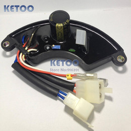 Wholesale LiHUA KW AVR For Gasoline Generator kw kw Three Phase Plastic Shell AVR Fast shipping