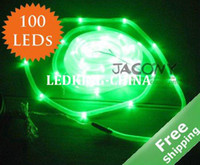 Wholesale Solar LED string Tube light Waterproof Green LED bulbs