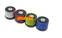 Wholesale Bluetooth mini Speaker wireless car speaker Mobile phone speaker Wireless Mini Speaker with MIC Voice calls Support TF Card MP3 Music