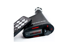 Wholesale Car MP3 Player Wireless FM Transmitter With USB SD MMC Slot