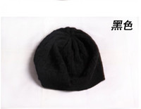 Wholesale 100 Cashmere Hat Wool Yarn Hat Women Hat Lady Hat Girl Fashion Thick Hat Comfortable Causual Hat Black Red Pink Purple Yellow Blue