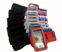 Wholesale S3 Gym Strap - Sport Armband Running Gym Arm Strap Cover Case for Samsung Galaxy S3 S III 3 I9300 S4 III i9500 protectitive case free shipping